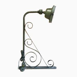Industrielle Mid-Century Lampe von GEC