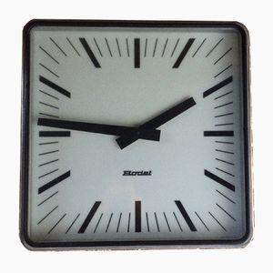 Large Station Clock from Bodet, 1960s
