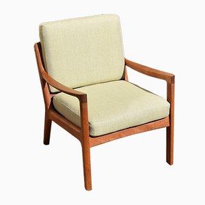 Teak Senator Lounge Chair by Ole Wanscher for France & Søn, 1960s