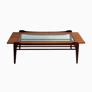Vintage Glass Coffee Table from G-Plan