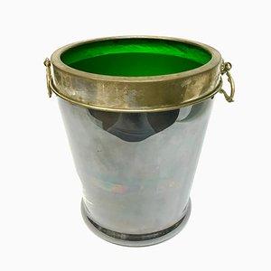 Murano & Silver Ice Bucket, 1970s