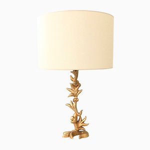Sculptural Gilt Bronze Table Lamp by Mathias for Fondica, 1990s