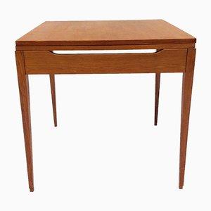Ausziehbarer quadratischer Tisch, 1950er