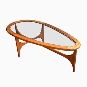 Teak & Glass Coffee Table from Stonehill, 1960s