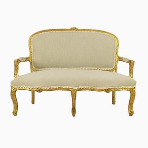 Antikes Miniatur-Sofa