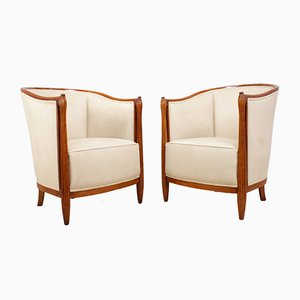 Art Deco Salon Chairs by Paul Folllot, 1920s, Set of 2