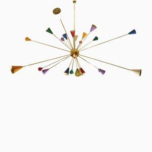 Sputnik Ceiling Lamp, 1950s