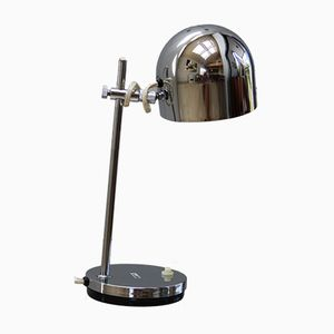 Vintage Desk Lamp in Chrome Plated Steel from Marboch Electric, 1960s
