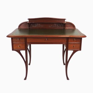 Antique Art Nouveau Desk by Diot, 1905