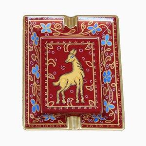 Posacenere in porcellana di Hermès, inizio XXI secolo