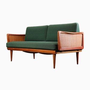 Sofá cama FD451 de Peter Hvidt & Orla Mølgaard-Nielsen para France & Søn, años 60