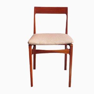 Chaise de Salle à Manger Vintage en Acajou