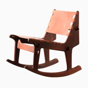 Rocking Chair par Angel I. Pazmino pour Muebles de Estilo, 1960s