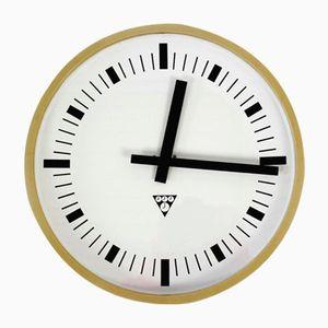 Vintage Factory Clock from Pragotron, 1970s