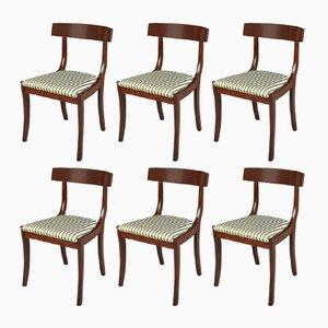 Esszimmerstühle aus Mahagoni von Skovby, 1972, 6er Set