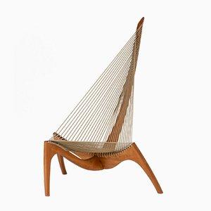 Mid-Century Harp Chair by Jørgen Høvelskov, 1960s