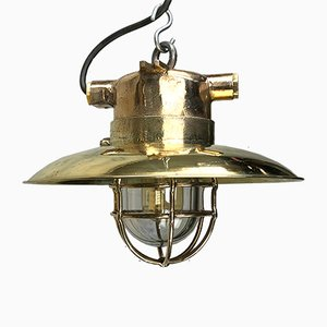 Vintage Explosion-Proof Pendant Lamp by WISKA
