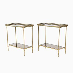 Hollywood Regency Side Tables from Maison Jansen, 1970s, Set of 2