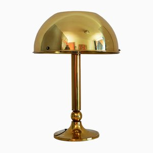 German Brass Table Lamp by Florian Schulz, 1970s
