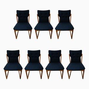Dänische Esszimmerstühle aus Teak von Vamdrup Stolefabrik, 1960er, Set of 7