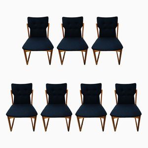 Danish Teak Dining Chairs from Vamdrup Stolefabrik, 1960s, Set of 7