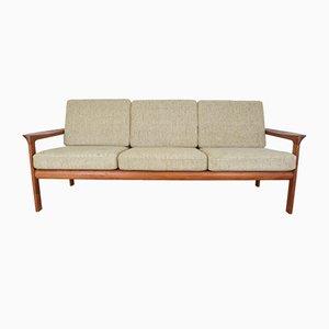 Dänisches 3-Sitzer Sofa aus Teak von Sven Ellekaer für Komfort, 1960er