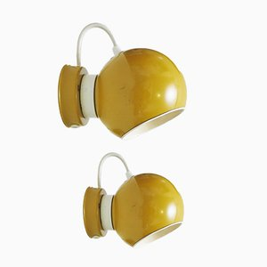 Magnetic Ball Sconces by Goffredo Reggiani, 1960s, Set of 2
