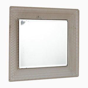 Perforated Metal Mirror, 1950s