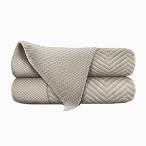 Sand & Stone Merino Wool Blanket by Blankets & Throws