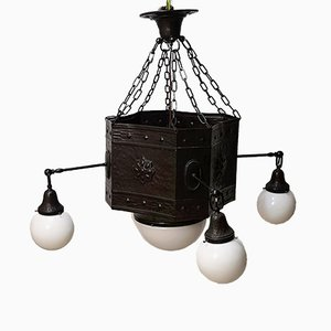 Large Antique Ceiling Lamp