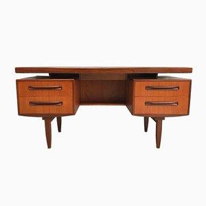 Teak Desk by Victor Wilkins for G-Plan, 1960s