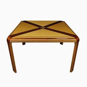 Italian Mahogany Table, 1970s