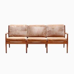 Dänisches Sofa von Grete Jalk für Glostrup, 1960er