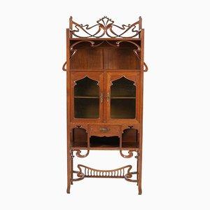 Armadio Art Nouveau in quercia, inizio XX secolo