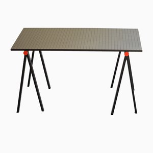 Vintage Block Table by Rodney Kinsman for Bieffeplast