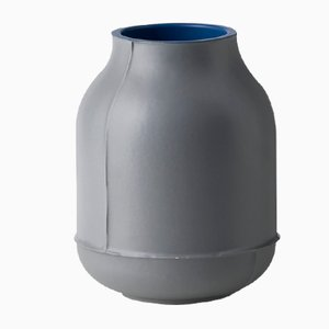 Small Seams Barrel Vase by Benjamin Hubert for Bitossi, 2014