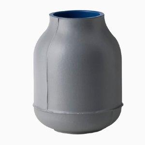 Small Seams Barrel Vase by Benjamin Hubert for Bitossi, 2014