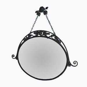 Specchio da parete antico fatto a mano, anni '20