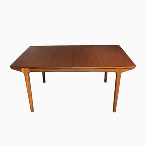 Mid-Century Teak Dining Table from McIntosh