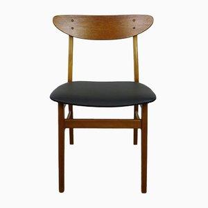 Sedie da pranzo modello 210 di Farstrup Møbler, anni '60, set di 4
