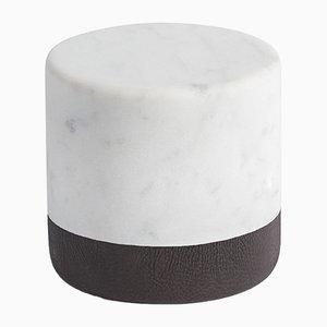 Fermacarte Lui&Lei Paperweight in marmo bianco di Carrara di Vincent Van Duysen per Salvatori