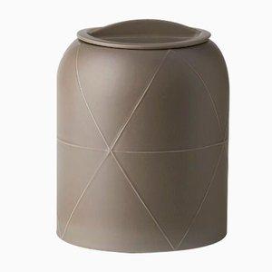 Seams Vase mit D Deckel von Benjamin Hubert für Bitossi, 2015