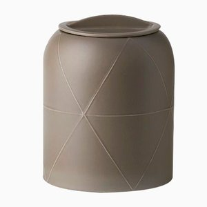 Seams Vase with Lid D by Benjamin Hubert for Bitossi, 2015
