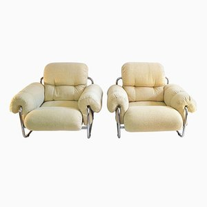 Tucroma Lounge Chairs by Guido Faleschini for Mariani, 1970s, Set of 2