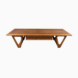 Mesa de centro estadounidense de Lane Furniture, años 60