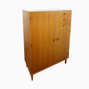 Mid-Century Light Oak Wardrobe from Meredew