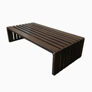 Vintage Slatted Bench or Coffee Table by Walter Antonis for 't Spectrum