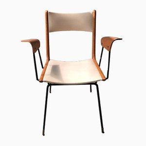 Italienischer Boomerang Chair von Carlo de Carli, 1950er