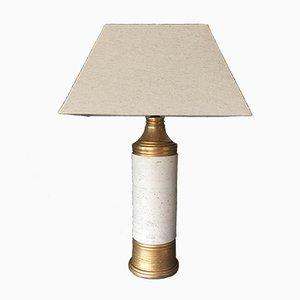 Lámpara de mesa Mid-Century de cerámica de Bitossi para Bergboms, años 60