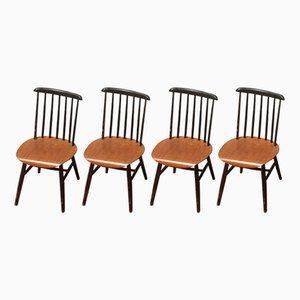 Stühle von Ilmari Tapiovaara, 1960er, 4er Set
